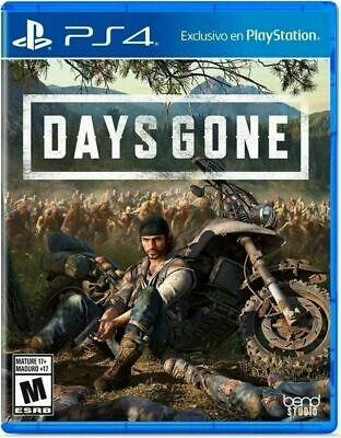 Days Gone PS4 (Sony PlayStation 4, 2019) , New Other  Fast Ship