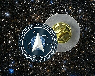 Cool United States Space Force Air Force Trump   Tie Tack / Lapel Pin