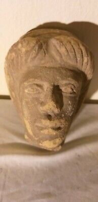 Ancient Egyptian Roman Bust 9 inch