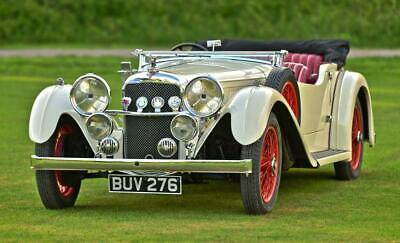1934 Alvis Speed 20 SC Vandem Plas tourer