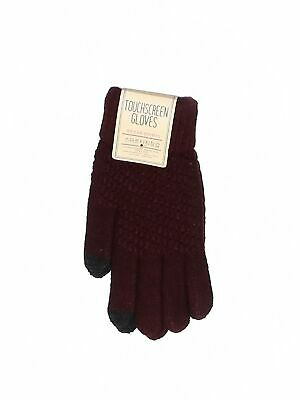 NWT Assorted Brands Women Red Gloves One Size