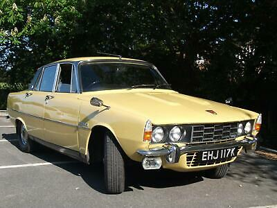 Rover 3500 V8 P6 automatic. Lovely all round condition. Rust protected from new