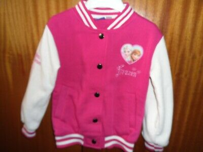 Girls Pink/White Frozen Jacket 4-5 yrs