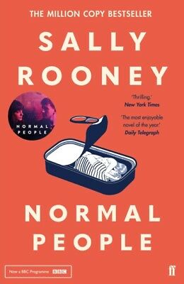 NORMAL PEOPLE by Sally Rooney, 2019 Paperback BEST SELLER - BBC Drama *****