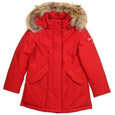 Woolrich Giubbotto Bambina Rosso Wkcps1973