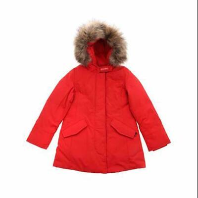 Woolrich Giubbotto Bambina Rosso Wkcps2120