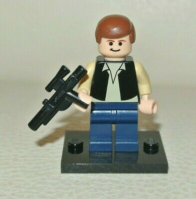 LEGO Star Wars : Han Solo - minifig figurine personnage  promosw005 sw601 sw0601