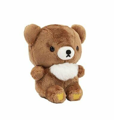 "Rilakkuma Plush 6"" Kogumachan Plush Toy Doll by San-x - brown baby bear MR47101"