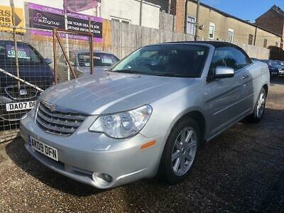 2009 Chrysler Sebring 2.0 CRD Limited 2dr Convertible Diesel Manual
