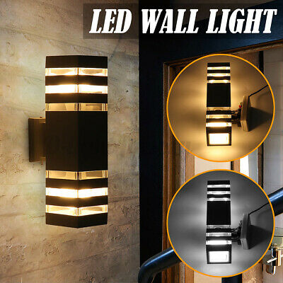 LED Wall Light Up Down Fixture Light Dual Head Outdoor Indoor Sconce Lamp AU