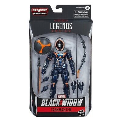 Marvel Legends Black Widow Wave 1 - Taskmaster (Crimson Dynamo BAF)