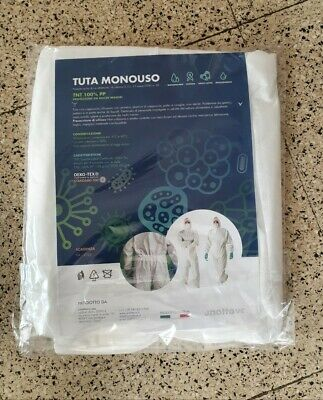 Tuta Monouso In Tnt 100% Pp  Made In Italy