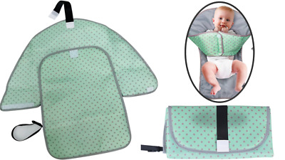 3-in-1 Portable Baby Diaper Changing Pad Waterproof Clutch - Babies Clean Hands