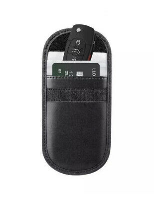Car Keyless Key Entry Fob Anti-Theft Signal Guard Blocker Case Pouch Faraday Bag