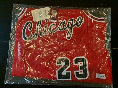 NEW Michael Jordan Mitchell & Ness Bulls 84 85 Jersey Siz 48 XL Mens RED ROOKIE