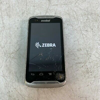 Zebra Symbol TC55 Android Mobile Computer Barcode Scanner CRACKED GLASS