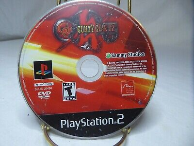 Guilty Gear X2 (Sony PlayStation 2, 2003) Disc only