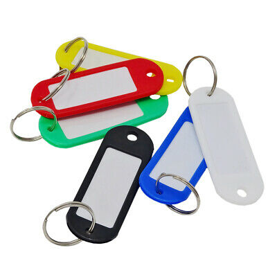 SBS Key Tags 200 Piece To Write On Key Ring