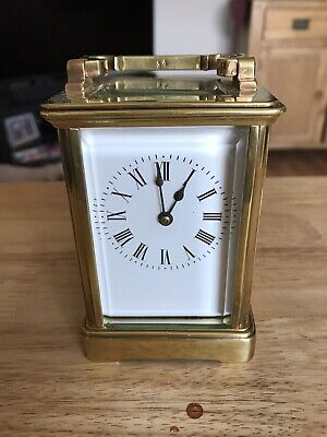 Stunning Solid Brass 8 Day Carriage Clock