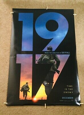 """1917"" Double Sided D/S (29X40) Movie Poster! ""Rare""! Theater Version!!!"
