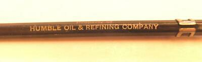 Humble Oil & Refining Company Ad Mechanical Pencil Scripto Tray21