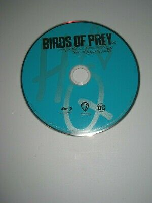 Birds of Prey & Fantabulous Harley Quinn (Blu Ray Disc Only) Like New