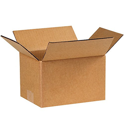 """Partners Brand P865 Corrugated Boxes, 8""""L x 6""""W x 5""""H, Kraft Pack of 25"""