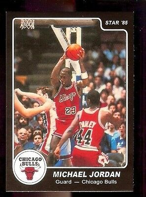 1984 - 1985 Star Michael Jordan #101 XRC Rookie Black Border Reprint*