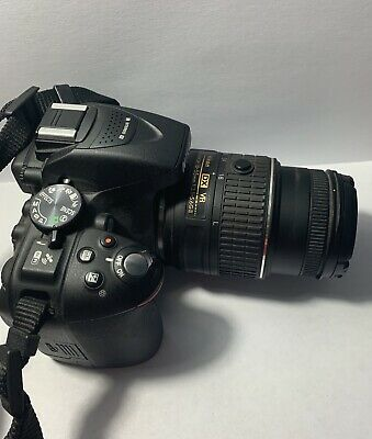 Nikon D5300 Black body w/ AF-P DX 18-55mm VR Lens Kit