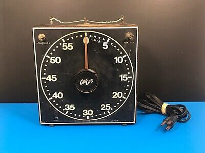 GraLab Model 300 Darkroom Timer, Safelight Enlarger Alarm Glow Face 3 Prong