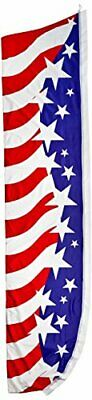 Quality Standard Flags USA Star Spangled Super Flag, 11.5 by 2.5'