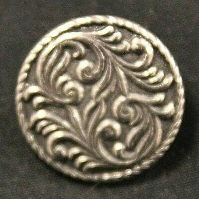 Tinn-Per Norway Set of 6 Pewter Shank Buttons Tele Design #2140 CB8 Size 22mm
