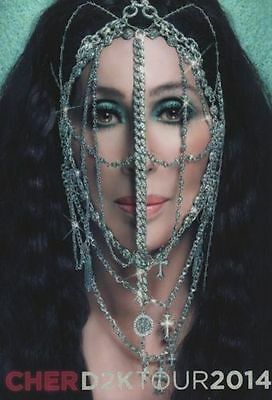 Cher 2014 Dressed To Kill Tour Concert Program Book Booklet / Nmt 2 Mint