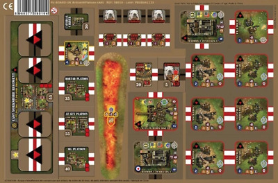 HEROES OF NORMANDIE PU-BOARD-EXTRA UNIT US-GE EXPANSION BRAND NEW /& SEALED