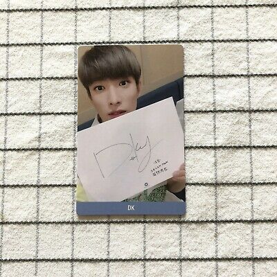 SEVENTEEN YOU MAKE MY DAY DK Taiwan Promotion photocard