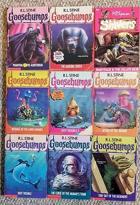 Goosebumps Childrens Chapter Books R.L. Stine
