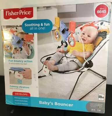 Fisher Price Baby Bouncer 6645 New (Distressed Box)