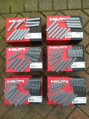 HILTI Nails 14mm 17mm 20mm 27mm 32mm 39mm for GX3 GX120 GX100. 24-48H Delivery