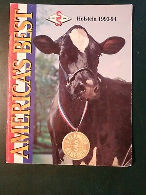 "1993-94 Select Sires Inc. Holstein Dairy Cattle Sire Directory - ""Blackstar"""