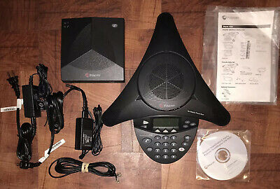 Polycom SoundStation 2W Wireless & Base Conference Phone 2201-07800-160
