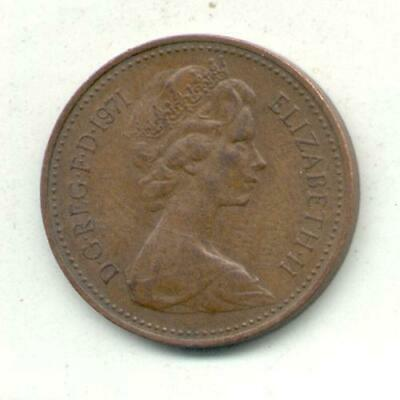 Great Britain 1 New Penny 1971