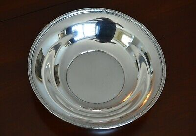 """Large American Sterling Silver Bowl ;  Ellmore Silver Co.     11"""""""