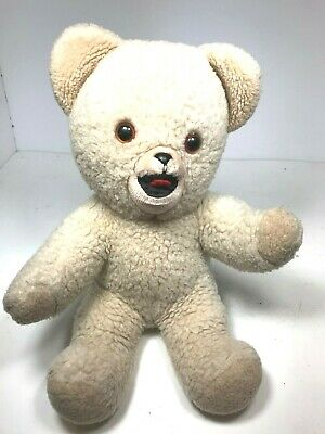 Vintage 1980s Snuggle Fabric Softener Plush Bear Doll