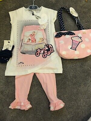 ADee Rock And Roll Leggings Set 2 Years With Matching Bag And Socks BNWT