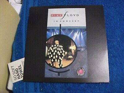 "Music Laser Disc "" Pink Floyd Delicate Sound Of Thunder """