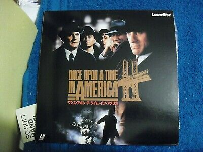 "Japanese Import Laser Disc "" Once Upon A Time In America "" Supplied With Poster"
