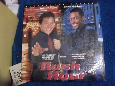 "Laser Disc "" Rush Hour "" Late Issue 1999 Stars Jackie Chan, Chris Tucker"