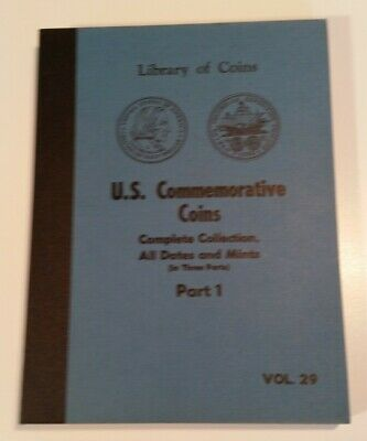 Library of Coins Album, Volume 29 U.S. Commemorative Coins Part 1