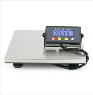 SF-887 200kg/50g High Quality Digital Postal Scale Silver Without Adapter Black