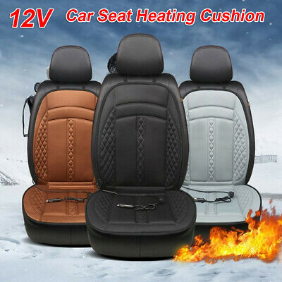 12V Car Baby Safe Single Seat Heating Cushion Cover Auto Electric Heated Mat Pad